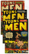 Golden Age (1938-1955):War, Young Men Group (Atlas, 1951-53) Condition: Average FN.... (Total:6)