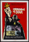 "Movie Posters:Horror, The Brotherhood of Satan (Columbia, 1971). One Sheet (27"" X 41""). Horror. Starring Strother Martin, L.Q. Jones, Charles Bate..."