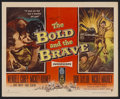 """Movie Posters:War, The Bold and the Brave (RKO, 1956). Half Sheet (22"""" X 28"""") Style A.War. Starring Wendell Corey, Mickey Rooney, Don Taylor, ..."""