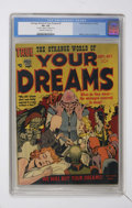 Golden Age (1938-1955):Horror, Strange World of Your Dreams #2 (Prize, 1952) CGC VF+ 8.5 Off-whiteto white pages....