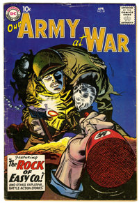 Our Army at War #81 (DC, 1959) Condition: VG-