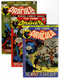 Bronze Age (1970-1979):Horror, Tomb of Dracula #4-9 Group (Marvel, 1972-73) Condition: AverageVF.... (Total: 6 Comic Books)