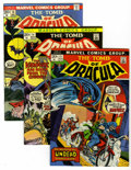 Bronze Age (1970-1979):Horror, Tomb of Dracula Group (Marvel, 1973-74) Condition: Average VF....(Total: 6 Comic Books)