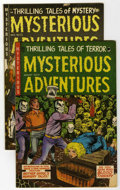 Golden Age (1938-1955):Horror, Mysterious Adventures #21 and #22 Group (Story Comics, 1954)....