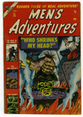 Golden Age (1938-1955):Horror, Men's Adventures #25 (Atlas, 1954) Condition: GD/VG....