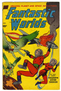 Golden Age (1938-1955):Science Fiction, Fantastic Worlds #5 (#1) (Standard, 1952) Condition: VG+....