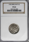 1936 5C Type Two--Brilliant Finish PR65 NGC....(PCGS# 3995)