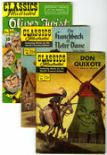 Golden Age (1938-1955):Classics Illustrated, Classics Illustrated Group (Gilberton, 1943-58) Condition: AverageVG.... (Total: 12 Comic Books)