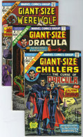 Bronze Age (1970-1979):Horror, Giant-Size Chillers and Other Horror Related Titles Group (Marvel,1974-75) Condition: Average VF/NM.... (Total: 8 Comic Books)