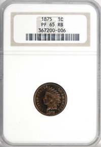 1875 1C PR65 Red and Brown NGC....(PCGS# 2313)