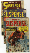 Golden Age (1938-1955):Science Fiction, Tales of Suspense Group (Marvel, 1961-63) Condition: AverageGD+....