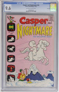 Bronze Age (1970-1979):Cartoon Character, Casper and Nightmare #30 File Copy (Harvey, 1970) CGC NM+ 9.6 Off-white to white pages....
