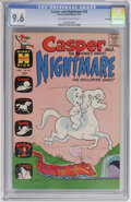 Bronze Age (1970-1979):Cartoon Character, Casper and Nightmare #28 File Copy (Harvey, 1970) CGC NM+ 9.6Off-white to white pages....