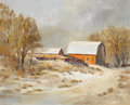 Texas:Early Texas Art - Impressionists, WILLIAM CURTIS ELLIOTT (1909-2001). Texas Farm. Oil oncanvas. 24 x 30 inches (61.0 x 76.2 cm). Signed lower right. ...