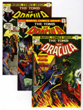 Bronze Age (1970-1979):Horror, Tomb of Dracula Group (Marvel, 1974-76) Condition: Average VF....(Total: 17 Comic Books)