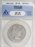 1904-S 50C --Cleaned--ANACS. XF45 Details....(PCGS# 6500)