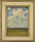 Fine Art - Painting, American:Modern  (1900 1949)  , ALBERT LOREY GROLL (American 1866-1952). Arizona Desert. Oilon canvas. 16 x 12 inches (40.6 x 30.5 cm). Signed lower ri...