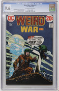 Bronze Age (1970-1979):War, Weird War Tales #11 (DC, 1973) CGC NM+ 9.6 Off-white to whitepages....