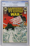 Bronze Age (1970-1979):Horror, Weird War Tales #9 (DC, 1972) CGC NM 9.4 Off-white to whitepages....