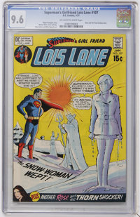 Superman's Girl Friend Lois Lane #107 (DC, 1971) CGC NM+ 9.6 Off-white to white pages