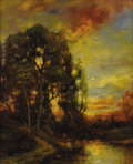 Fine Art - Painting, American:Modern  (1900 1949)  , CHARLES P. APPEL (American 1857-1928). End of the Day. Oilon canvas. 30 x 25-1/4 inches (76.2 x 64.1 cm). Signed lower ...