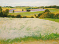 Texas:Early Texas Art - Impressionists, WILLIAM ANZALONE (b. 1935). Tank from Skull Creek Road. Oilon canvas. 30 x 40 inches (76.2 x 101.6 cm). Signed lower ri...