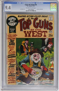 Bronze Age (1970-1979):Western, Super DC Giant #22 Top Guns of the West (DC, 1971) CGC NM 9.4 Off-white to white pages....