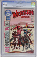 Bronze Age (1970-1979):Western, Super DC Giant #15 Western Comics (DC, 1970) CGC NM 9.4 Off-white to white pages....