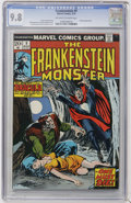 Bronze Age (1970-1979):Horror, Frankenstein #9 (Marvel, 1974) CGC NM/MT 9.8 Off-white to whitepages....