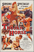 "Movie Posters:Action, The Trojan Horse & Other Lot (Colorama, 1961). Folded,Fine/Very Fine. One Sheets (3) (27"" X 41""). Action.. ... (Total: 3Items)"