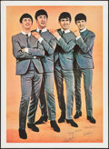 """Movie Posters:Rock and Roll, The Beatles (1960s). Commercial Poster (42"""" X 58""""). Rock and Roll....."""
