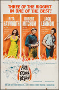 """Movie Posters:Adventure, Fire Down Below & Other Lot (Columbia, 1957). Folded, Fine/VeryFine. One Sheets (2) (27"""" X 41""""). Adventure.. ... (Total: 2 Items)"""