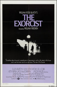 """The Exorcist (Warner Brothers, 1974). One Sheet (27"""" X 41""""). Horror"""