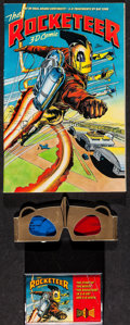 "Movie Posters:Action, Rocketeer (Disney Audio Entertainment, 1991). 3-D Sight and Sound Comic w/ 3-D Glasses (46 Pages, 7"" X 10"") & Cassette Tape ... (Total: 3 Items)"