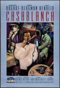 "Movie Posters:Academy Award Winners, Casablanca (Turner Entertainment R-1992). 50th Anniversary OneSheet (27"" X 40""). Academy Award Winners.. ..."
