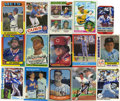 Autographs:Sports Cards, 1970s-90s Baseball Stars Signed Cards Lot of 62. Here we present atotal of 62 signed trading cards, all from baseball issu...
