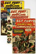 Silver Age (1956-1969):War, Sgt. Fury and His Howling Commandos Group (Marvel, 1964-66) Condition: Average VG/FN....
