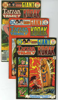 Bronze Age (1970-1979):Miscellaneous, The Tarzan Family #60-62 and 65 Group (DC, 1975-76) Condition:Average NM.... (Total: 4 Comic Books)