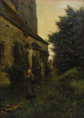 Fine Art - Painting, American:Antique  (Pre 1900), WILLIAM ANDERSON COFFIN (American 1855-1925). The Close ofDay, circa 1883. Oil on canvas. 55-1/2 x 39-1/2 inches(141.0...
