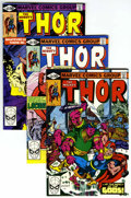 Modern Age (1980-Present):Superhero, Thor #301-410 Box Lot (Marvel, 1966-88) Condition: Average NM+....(Total: 118 Comic Books)