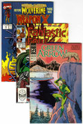 Modern Age (1980-Present):Miscellaneous, Miscellaneous Modern Comics Box Lot (Various Publishers, 1980s-2000s) Condition: Average NM-....