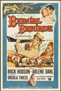 "Movie Posters:Adventure, Bengal Brigade (Universal, 1954). One Sheet (27"" X 41"").Adventure...."