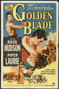 "Movie Posters:Adventure, The Golden Blade (Universal, 1953). One Sheet (27"" X 41"").Adventure...."