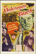 """Movie Posters:Mystery, The Unknown Guest (Monogram, 1943). One Sheet (27"""" X 41"""").Mystery...."""