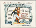 "Movie Posters:Adventure, Captain Horatio Hornblower (Warner Brothers, 1951). Half Sheet (22""X 28""). Adventure...."