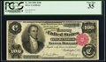 Large Size:Silver Certificates, Fr. 344 $100 1891 Silver Certificate PCGS Very Fine 35.. ...