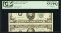 Error Notes:Major Errors, Fr. 2075-L $20 1985 Federal Reserve Note. PCGS Choice About New55PPQ.. ...
