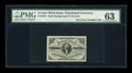 Fractional Currency:Third Issue, Fr. 1227 3c Third Issue PMG Choice Uncirculated 63....