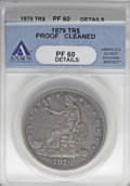 1879 T$1 --Cleaned--ANACS. PR60 Details....(PCGS# 7059)