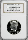 1964 50C Accented Hair PR66 Ultra Cameo NGC....(PCGS# 96801)